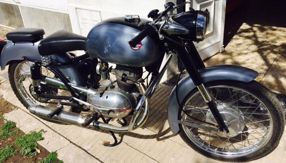 Mival 1958 125 4 Tiempos Motorcycle