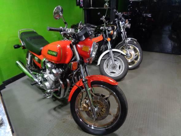 Moto Suzuki GSX 750