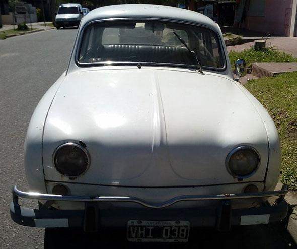 Auto Renault Dauphine
