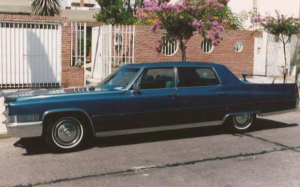 Car Cadillac Fleetwod 1970