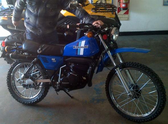 Kawasaki KE 125 1981 Motorcycle