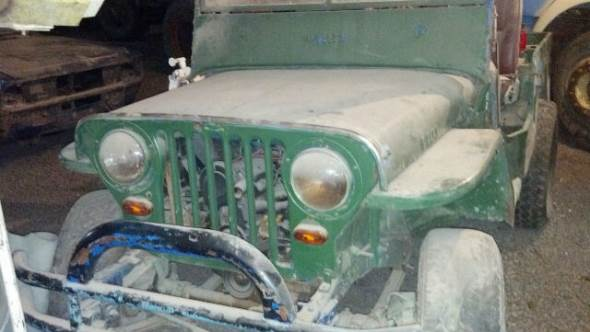 Auto Jeep Willys CJ2A