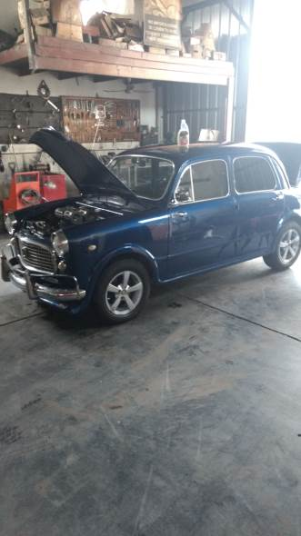 Car Fiat 1100 1962