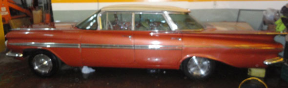 Auto Chevrolet Impala 1959 Hard Top