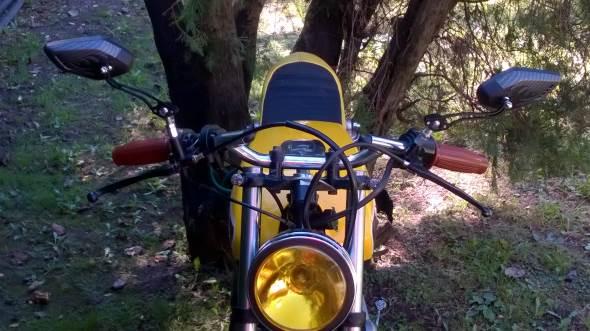 Yamaha Rx 100 Motorcycle