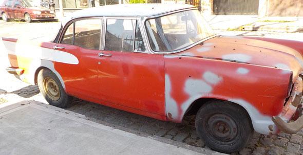 Auto Simca Vedette 1959