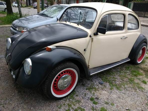 Auto Volkswagen Escararbajo 1958