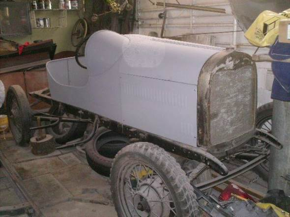 Auto Ford A Baquet 1929