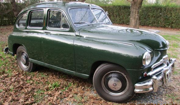 Auto Vanguard 1953