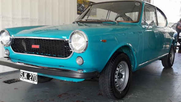 Car Fiat Coupé 125