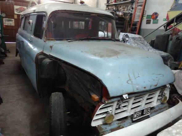 Auto Chevrolet Furgón 1955