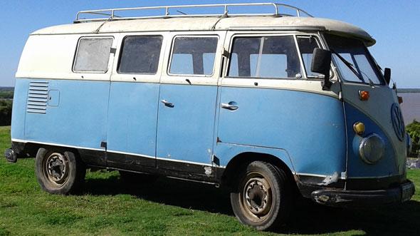 Auto Volkswagen Kombi T1  Modelo 1956