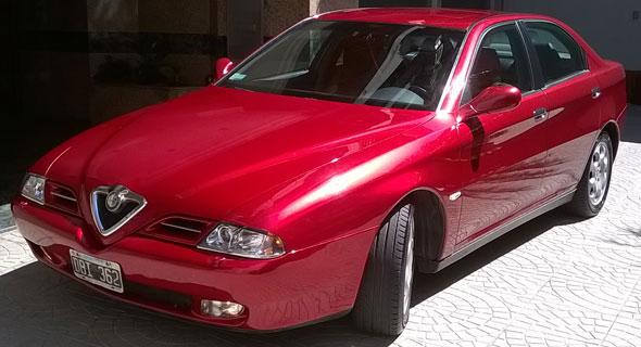 Car Alfa Romeo 166 3.0 Lts 24v