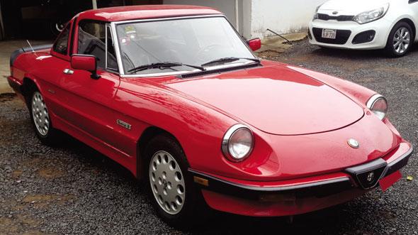 Auto Alfa Romeo Spider Quadrifoglio