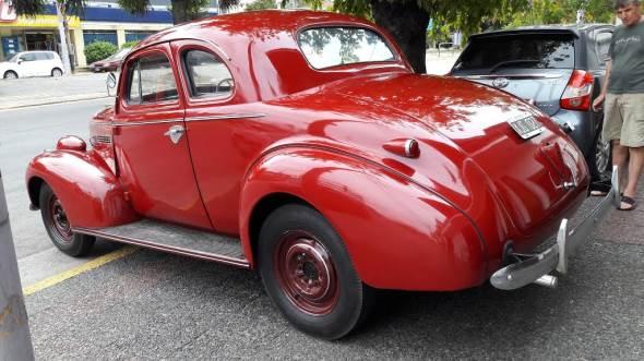 Car Chevrolet 1939 Coupé
