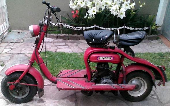 Siambretta 125 LD Motorcycle