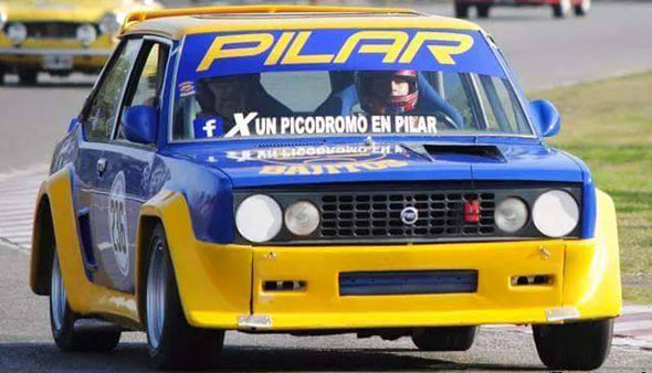 Car Fiat 131 Racing