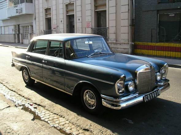 Car Mercedes Benz 300 SE Automatic 1964