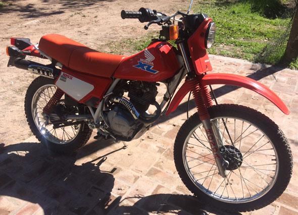 Moto Honda XL 185 S