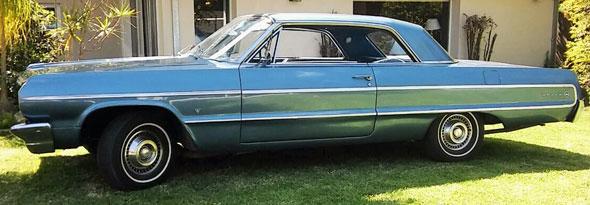 Auto Chevrolet Impala 1964