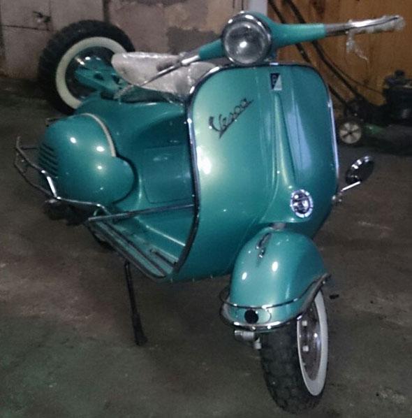 Vespa 1957 Motorcycle