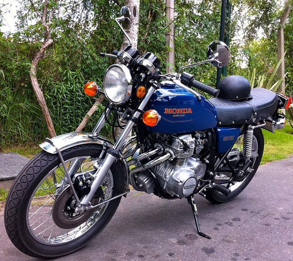 Honda CB 400 Four Motorcycle