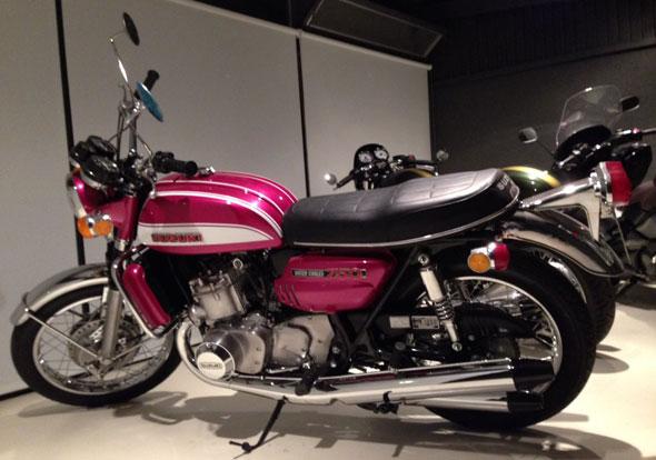 Suzuki GT 750 Motorcycle