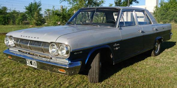 Auto IKA Rambler Classic 666