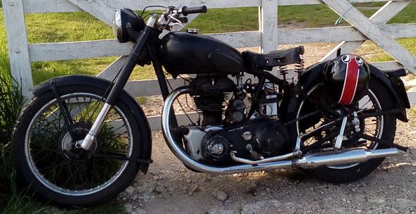 Royal Enfield 500 J2 Motorcycle