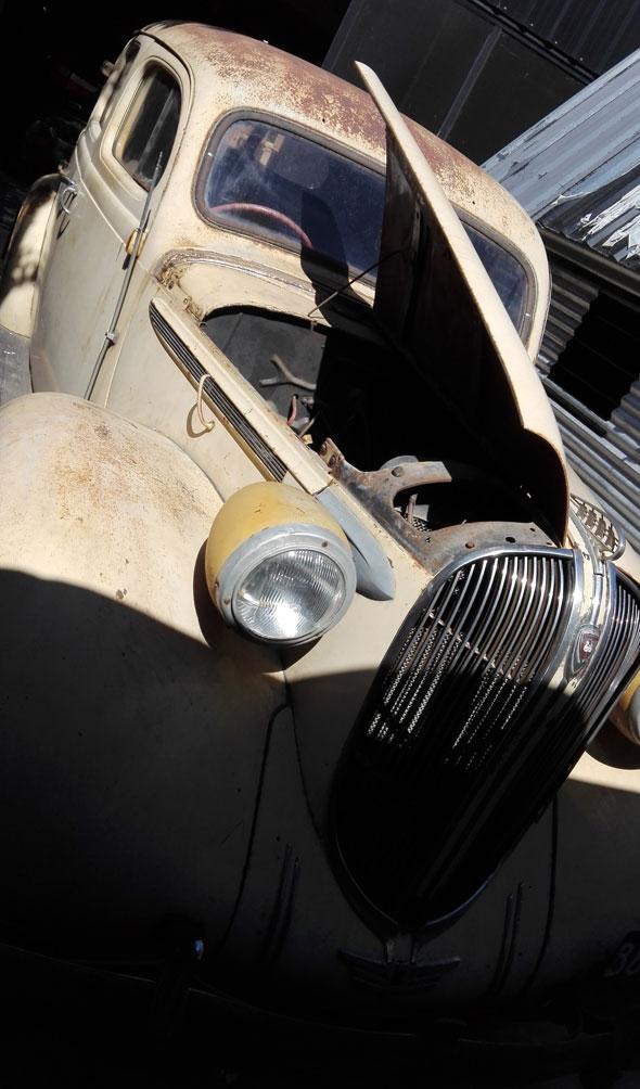 Auto Plymouth 1938