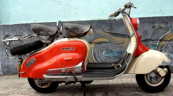 Siambreta LD 125 Motorcycle