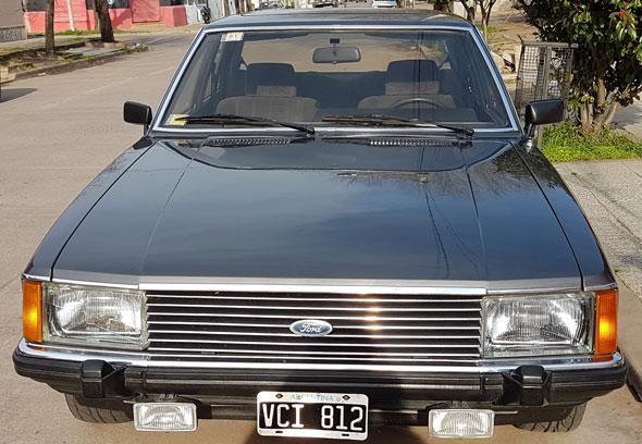Car Ford Granada Ghia V6 Alemán 1981