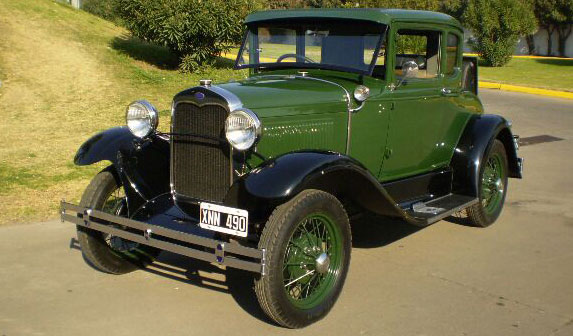 Auto Ford Voiture 1931