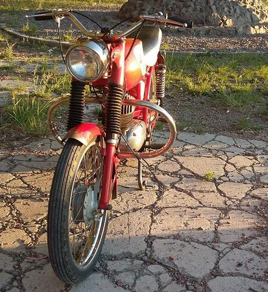 Zanella Rutera 125 Motorcycle