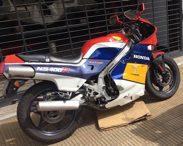 Moto Honda NSR 400 HRC