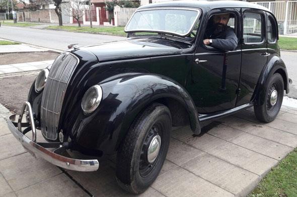 Auto Morris 1947