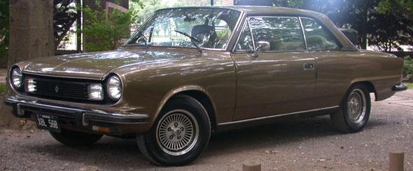 Car Renault Torino ZX