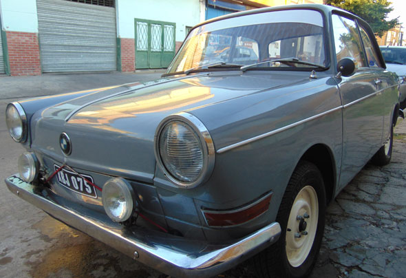Auto BMW De Carlo 700 1962