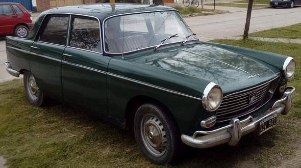 Auto Peugeot 404 1969