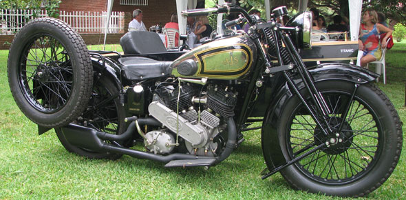AJS A2 Colonial 1000 Motorcycle