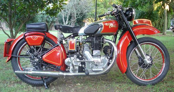 Moto Royal Enfield J2 500 1947