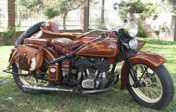 Moto Harley Davidson 1200 1936