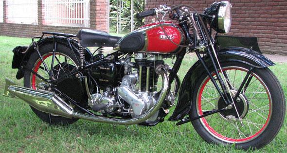 Ariel 500 RH 1937 Motorcycle