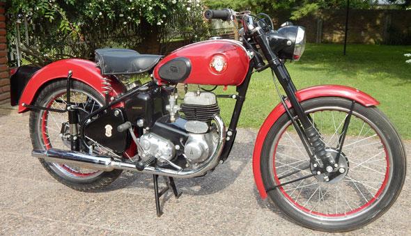 BSA C 10l 1954 Motorcycle