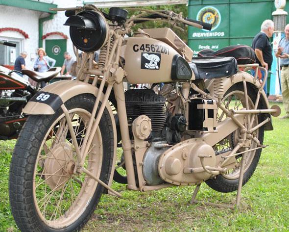 BSA 500 WM20 1937 Motorcycle
