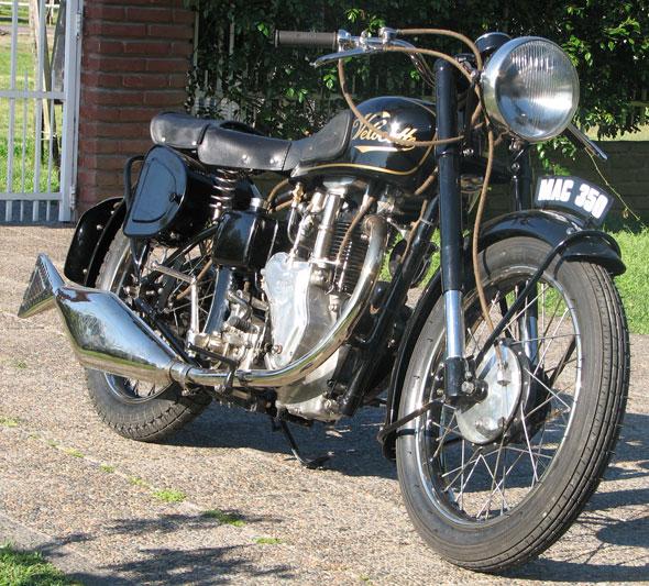 Velocette Mac 350 1947 Motorcycle