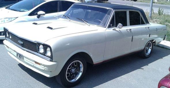 Auto Chevrolet 400 SS 1974