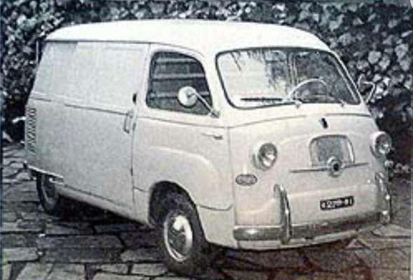 Auto Cisitalia Wekeend Furgón