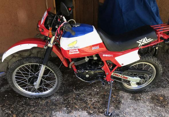 Moto Honda XL250R