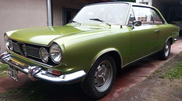Auto Renault Torino Coupé 1971
